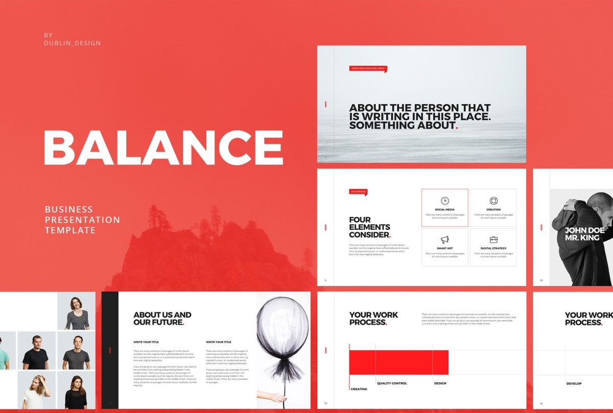 the top 27 free minimal powerpoint templates