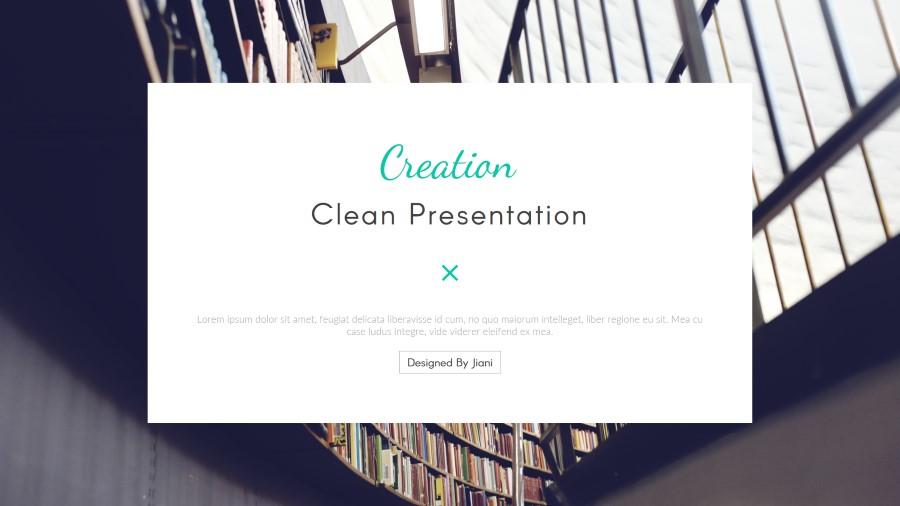Creation Multipurpose PowerPoint Template