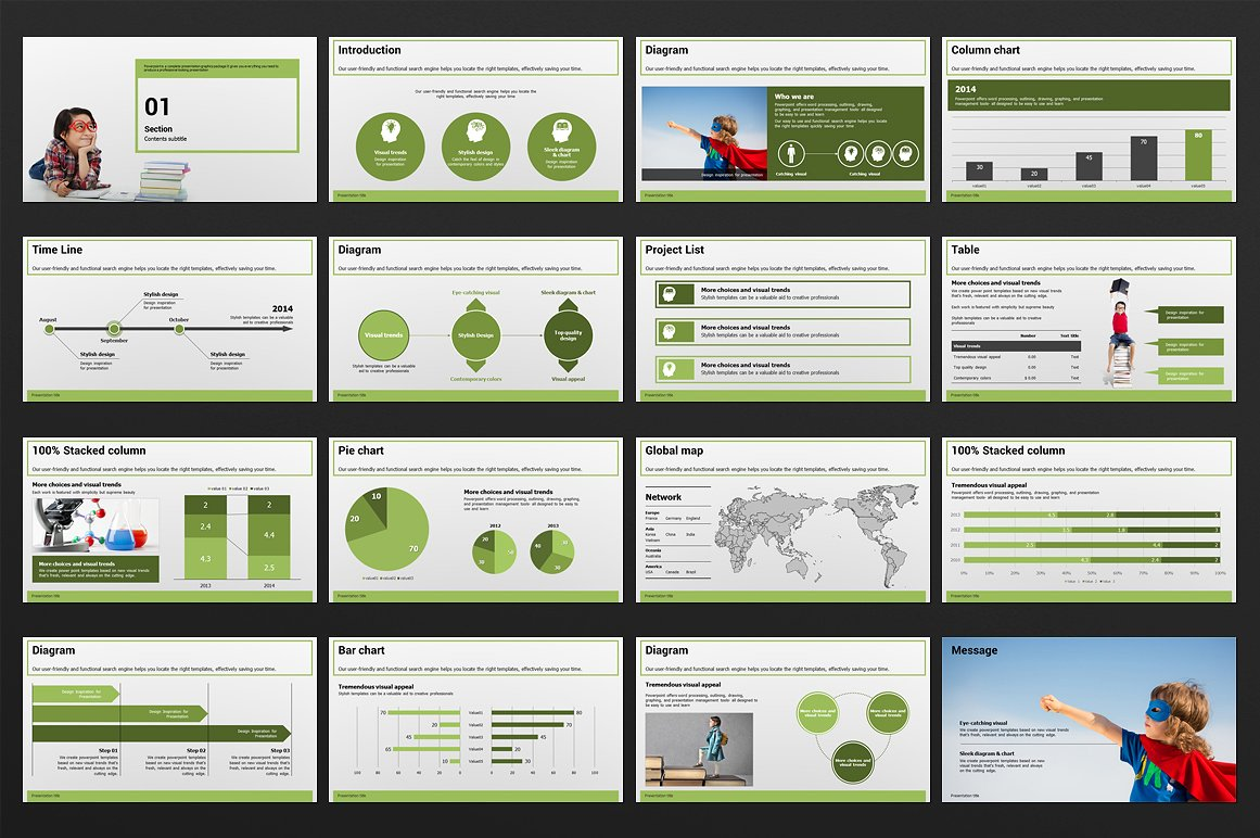 Education PowerPoint Presentation Template