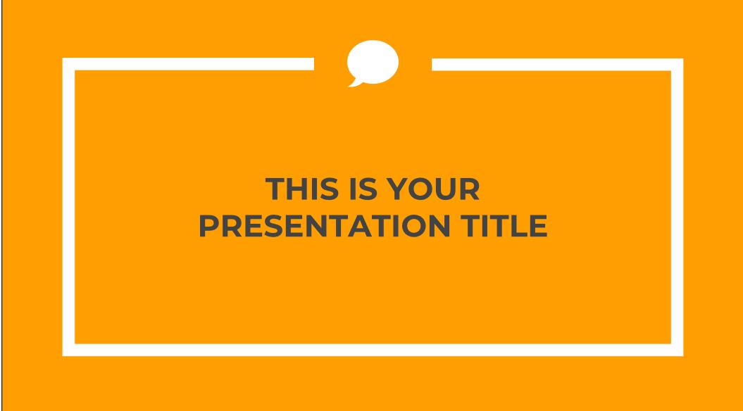 Perdita Presentation Template
