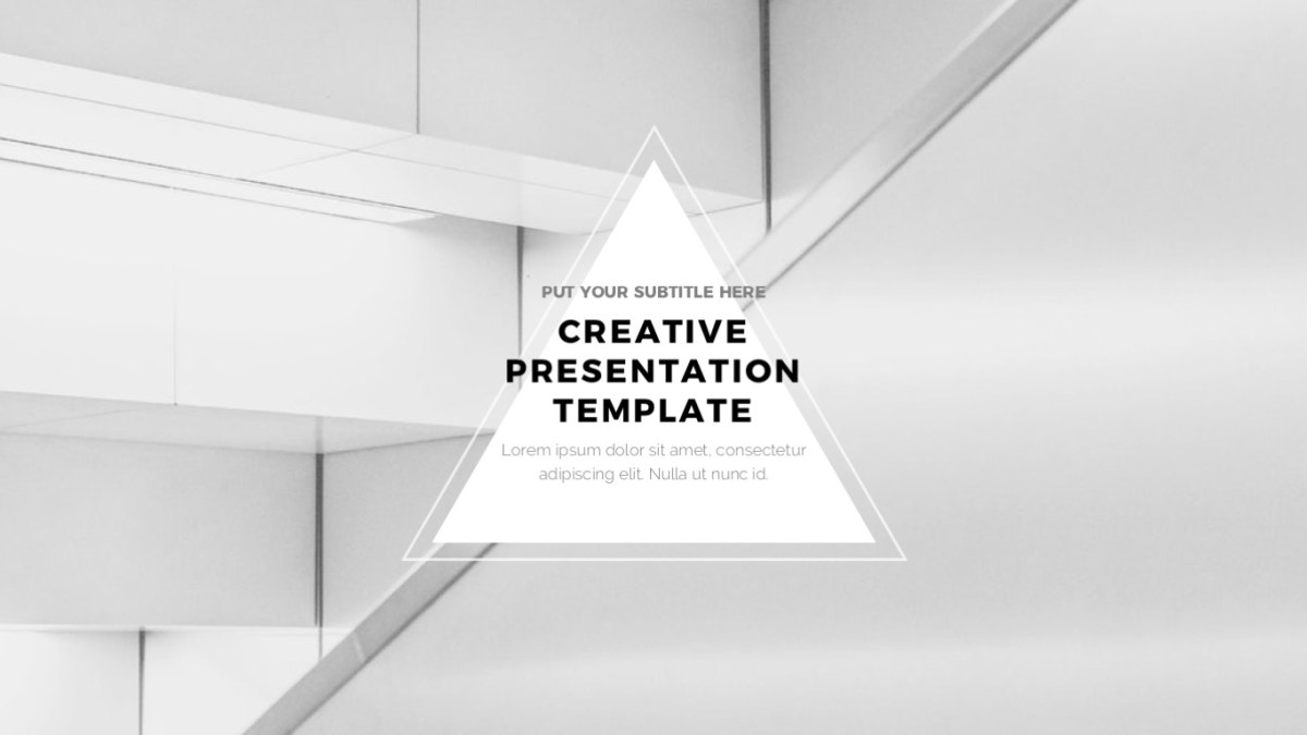 Universe Minimal and Clean PowerPoint Template