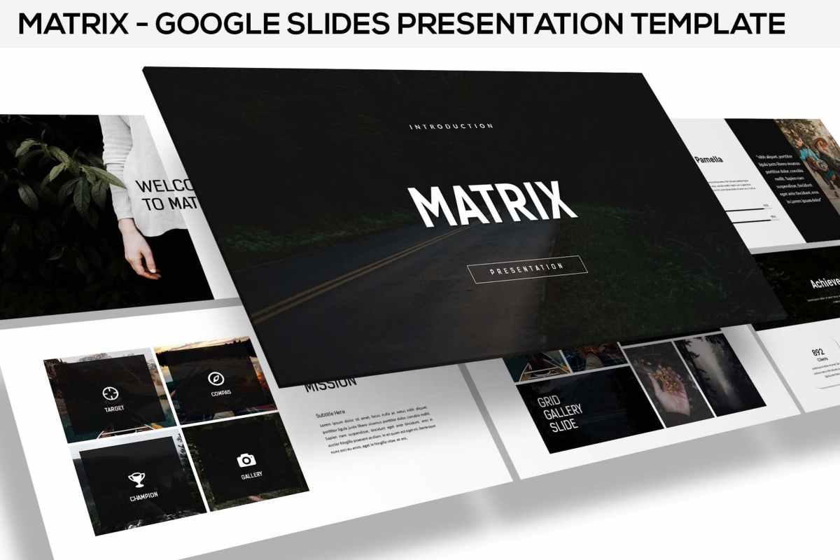 Minimal Google Slides Presentation