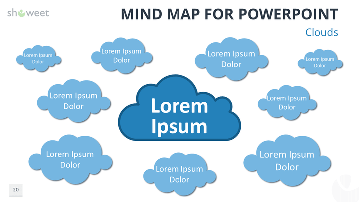 Mind Map Free Powerpoint Template