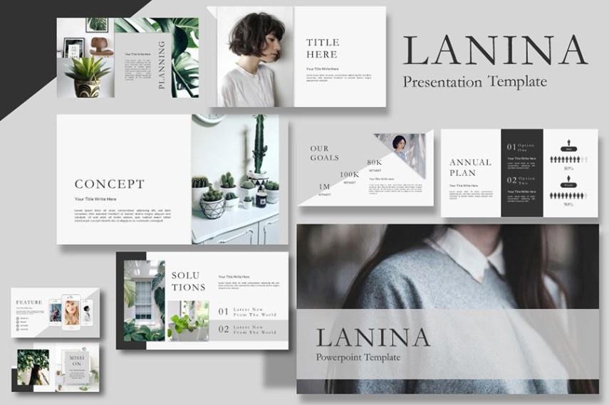 Lalina Free Presentation Template