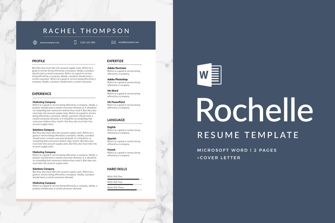 Resume Template Adobe Illustrator 52