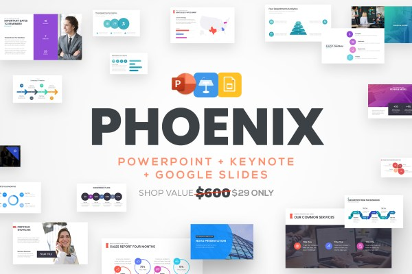 PowerPoint Template, Google Slides, Keynote Template