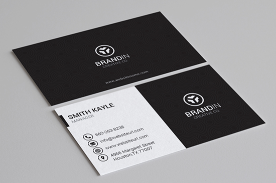 100 Modern Business Cards Bundle - Graphic Pick