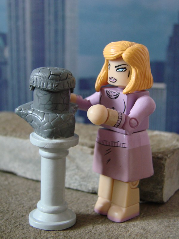 Marvel Minimates Series 48 Moloid /& Force Field Invisible Woman