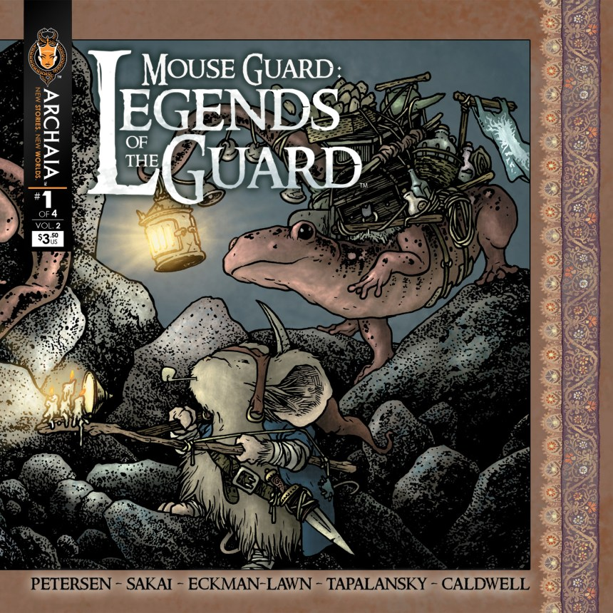 Mouse Guard Legends of the Guard v2 001