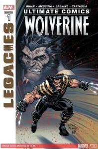 ultimate comics wolverine #1 cover