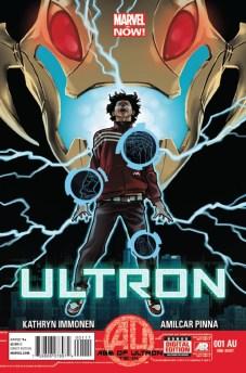 Ultron #1 AU Cover