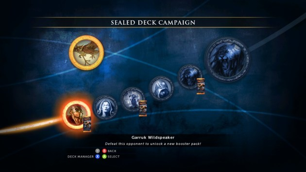 Magic 2014 - XBLA - Campaign Ladder
