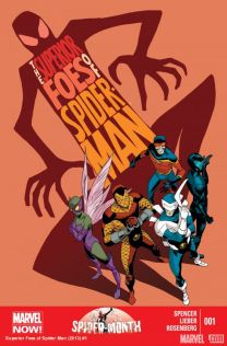 superior foe of spider-man #1 Cover