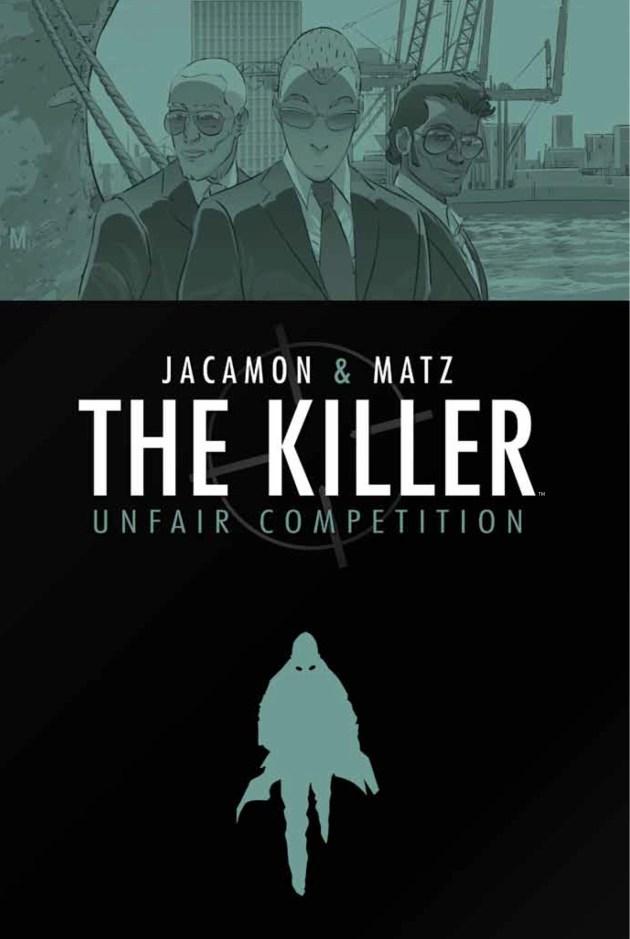 The Killer v4 HC Cover