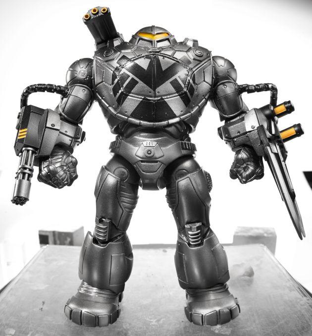Captain America 6-Inch Legends Infinite Series - BuildAFigure Mandroid 1