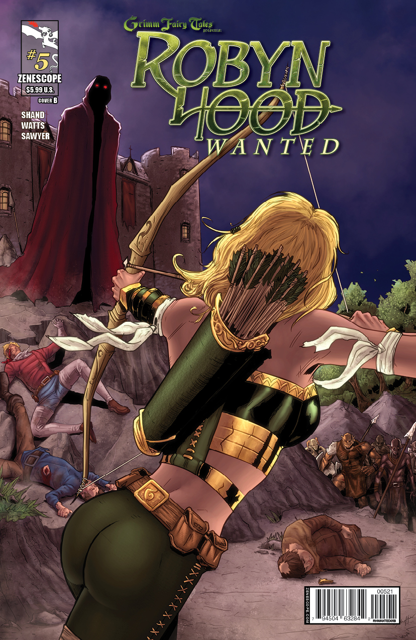 Grimm Fairy Tales Robyn Hood The Hunt 5 Cover A