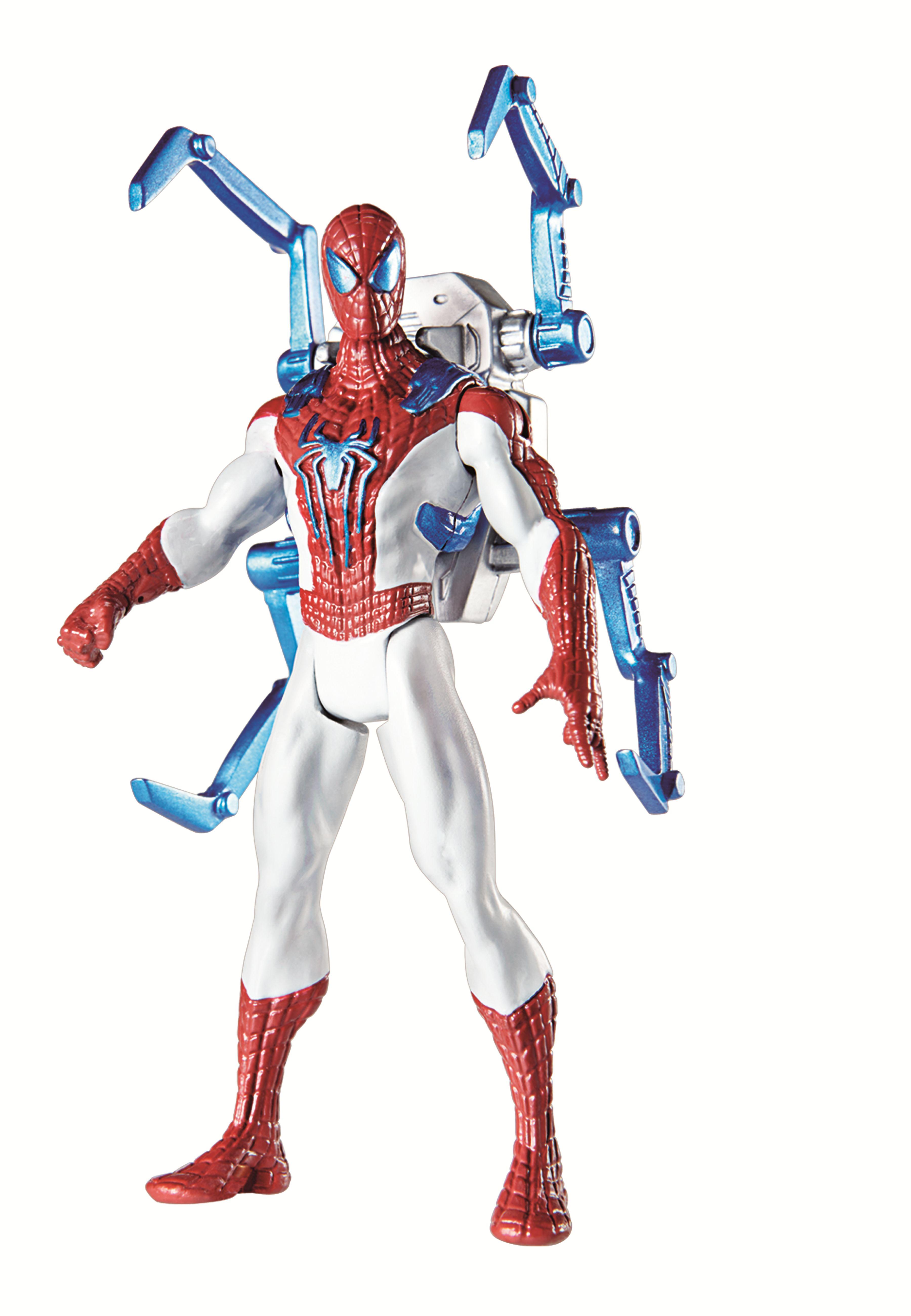Spielzeug Amazing Spider Man 2 Spider Strike 3 75 Inch Figure Web Shield Spider Man New Triadecont Com Br