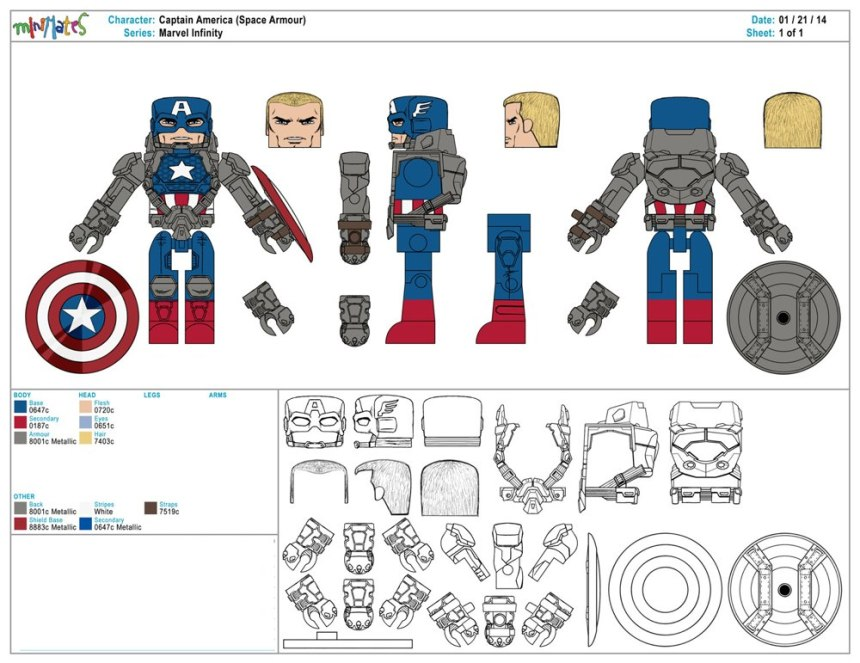 Marvel Infinity - Captain America (Space Armour)