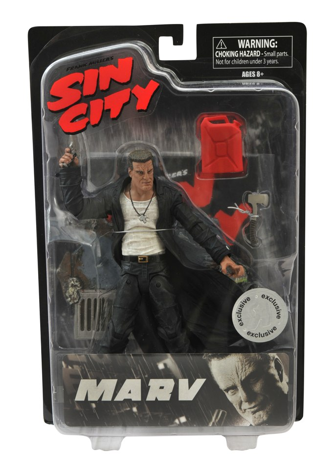 "Toys ""R"" Us to Carry Exclusive Sin City Movie Action Figures"
