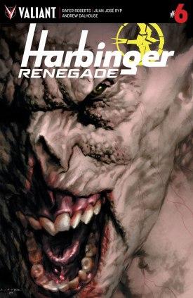 Harbinger Renegade #6 Cover A Larosa