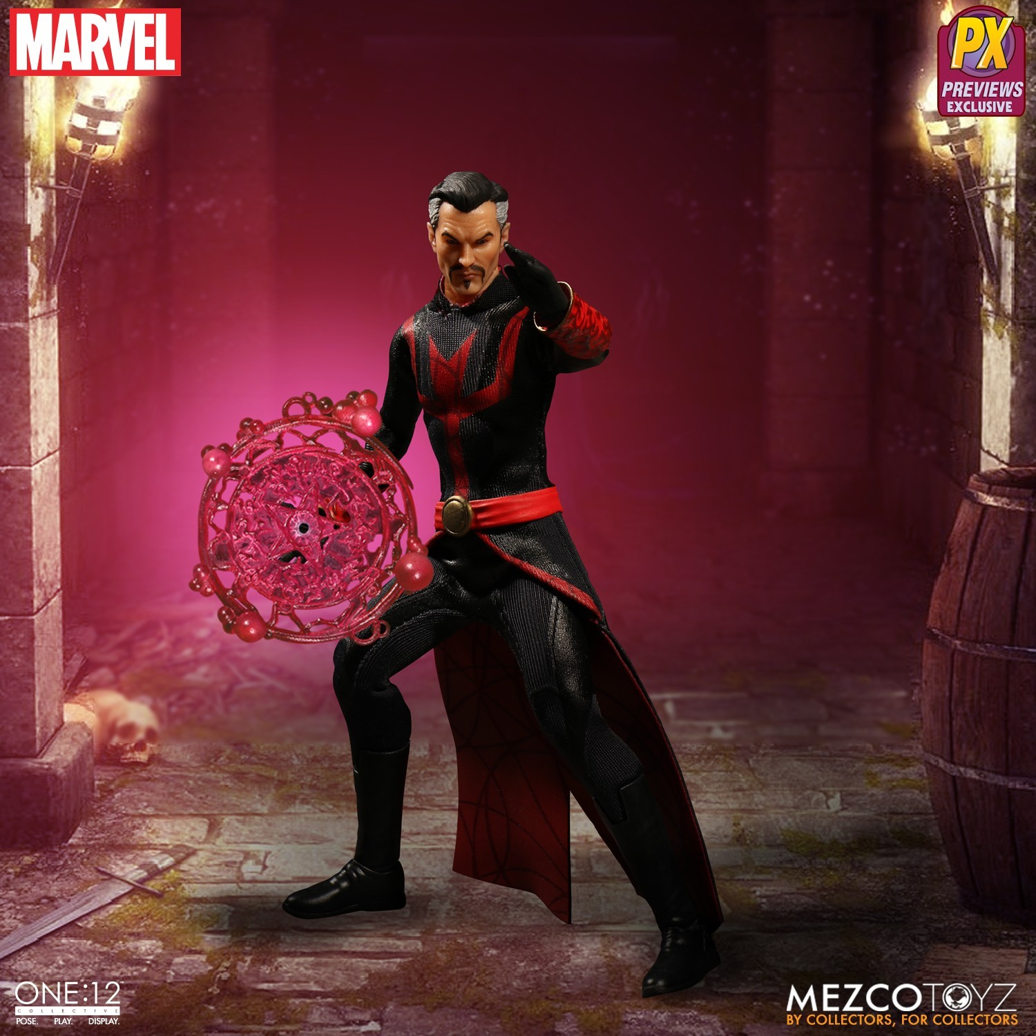 The One 12 Collective Previews Exclusive Marvel Defenders Doctor Strange 3