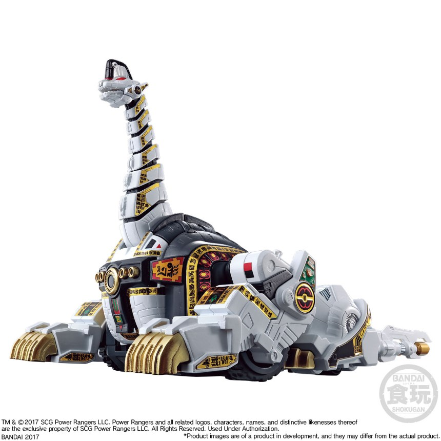 bluefin releases power rangers megazord dragonzord mini pla kits graphic policy. Black Bedroom Furniture Sets. Home Design Ideas