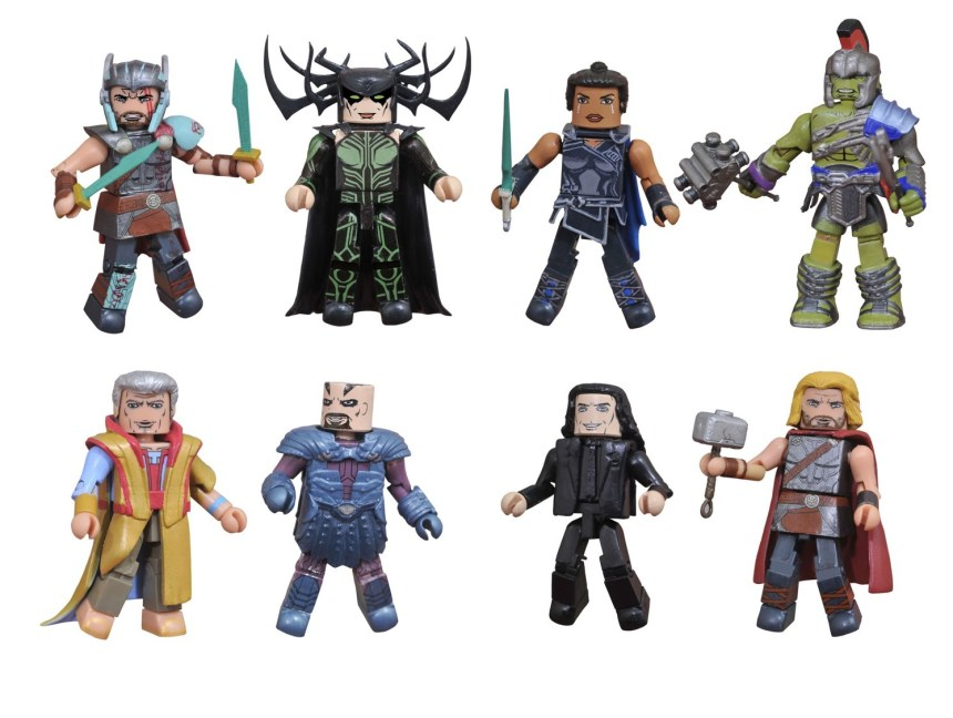 Minimates Stephen King/'s The Dark Tower Complete Set Figures Toys R Us Exclusive