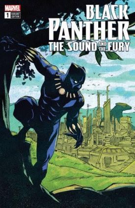 Black Panther The Sound and the Fury #1 EBay Exclusive