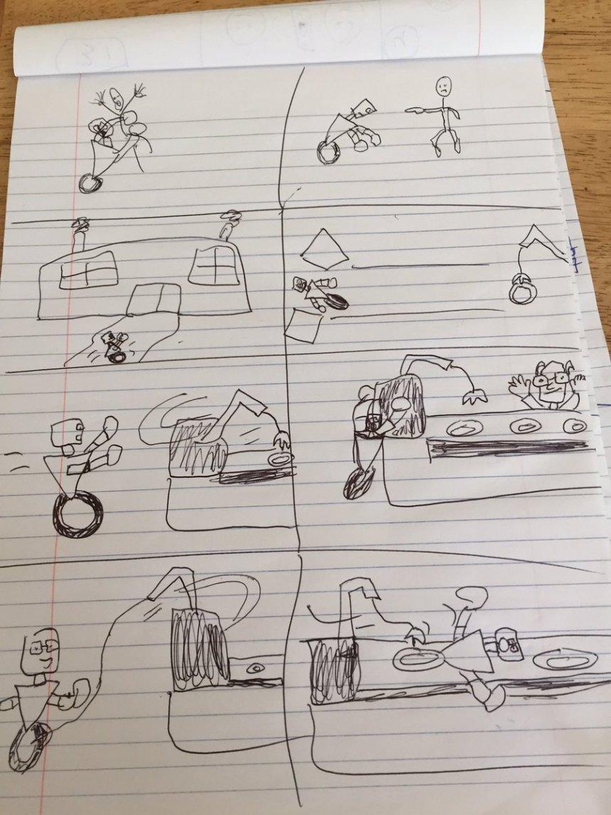 cartooning exercise week 4