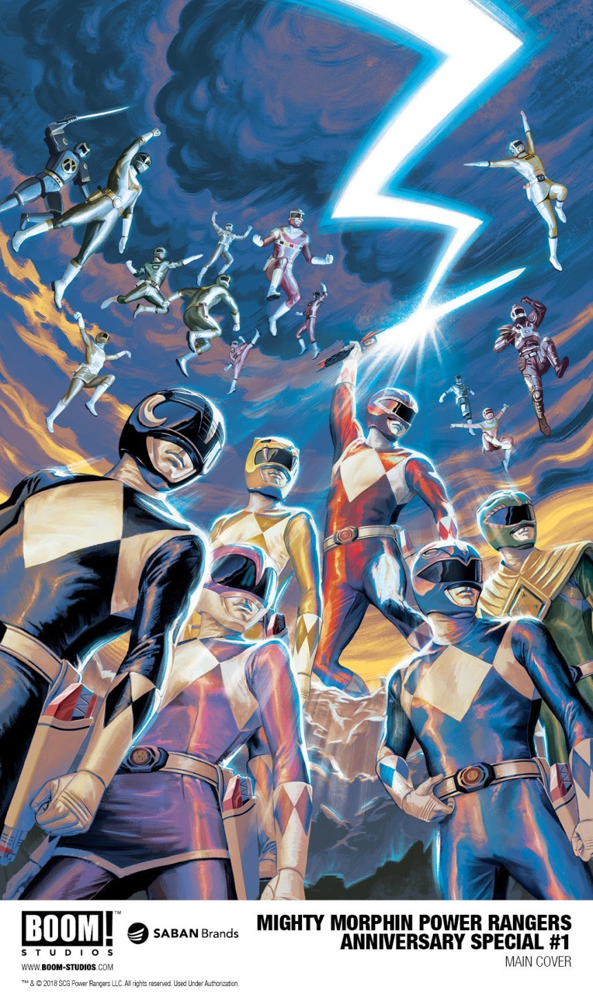1cf9c9bc7 Celebrate Saban's Power Rangers 25th Anniversary With A New Comic ...
