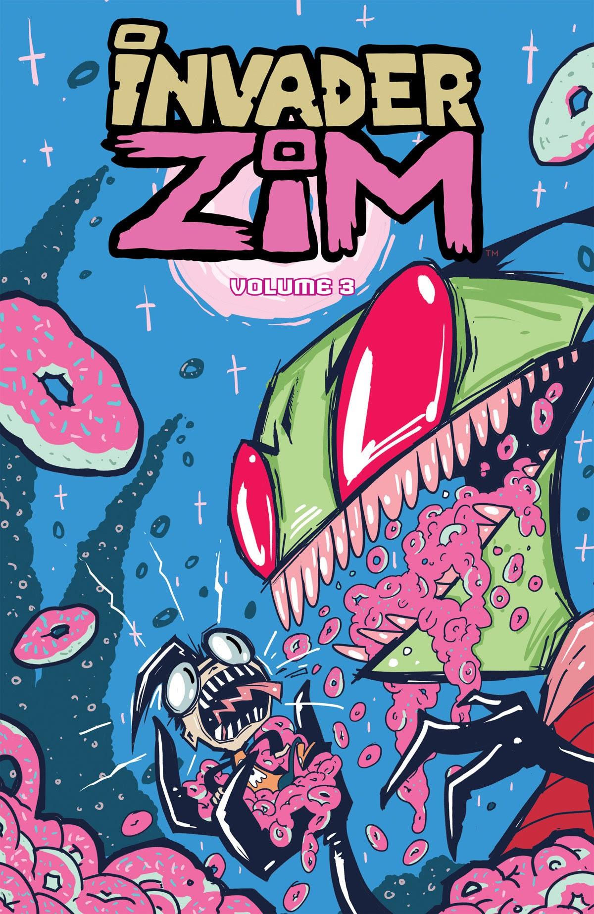 Invader ZIM Volumes 3