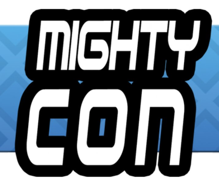 mighty con logo