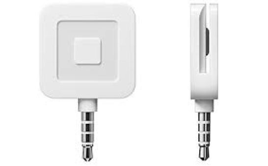 square chip reader