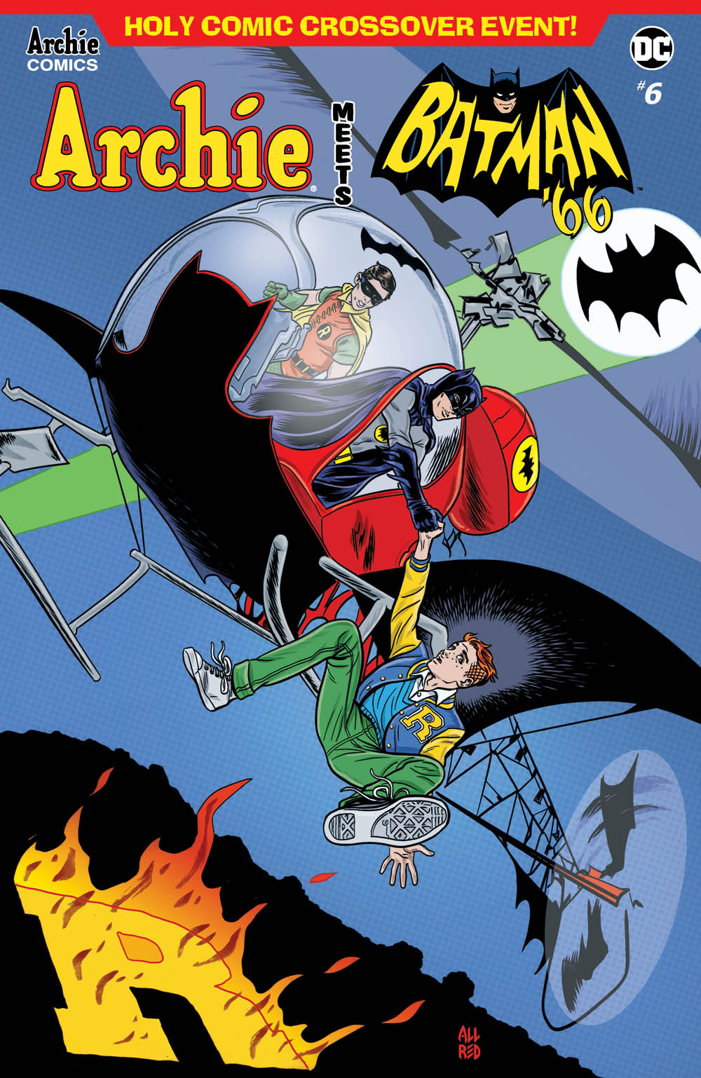 ARCHIE MEETS BATMAN 66 #1 CVR A ALLRED First Printing Flat Rate Shipping!