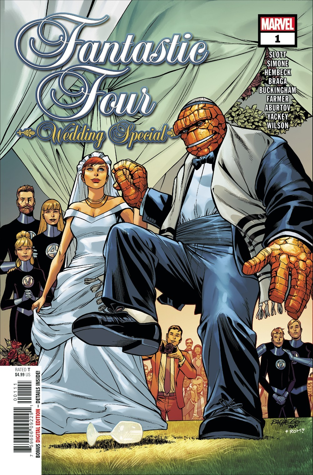 Preview: Fantastic Four Wedding Special #1