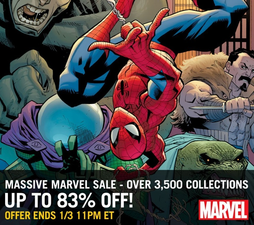 Massive Marvel Sale