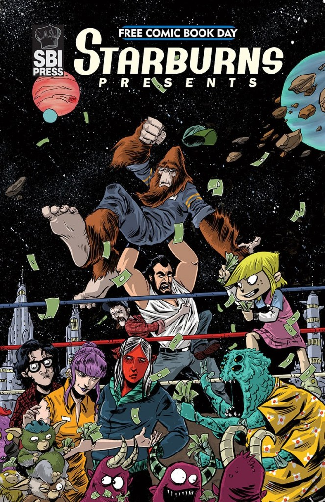 Starburns Presents Free Comic Book Day