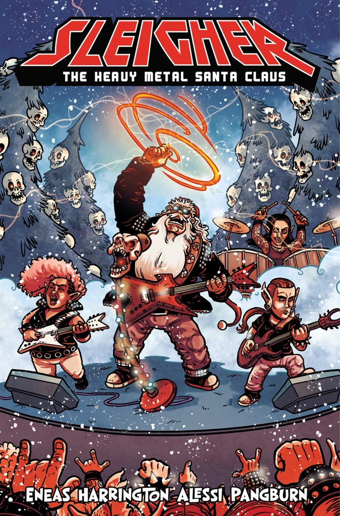 SLEIGHER: THE HEAVY METAL SANTA CLAUS TPB