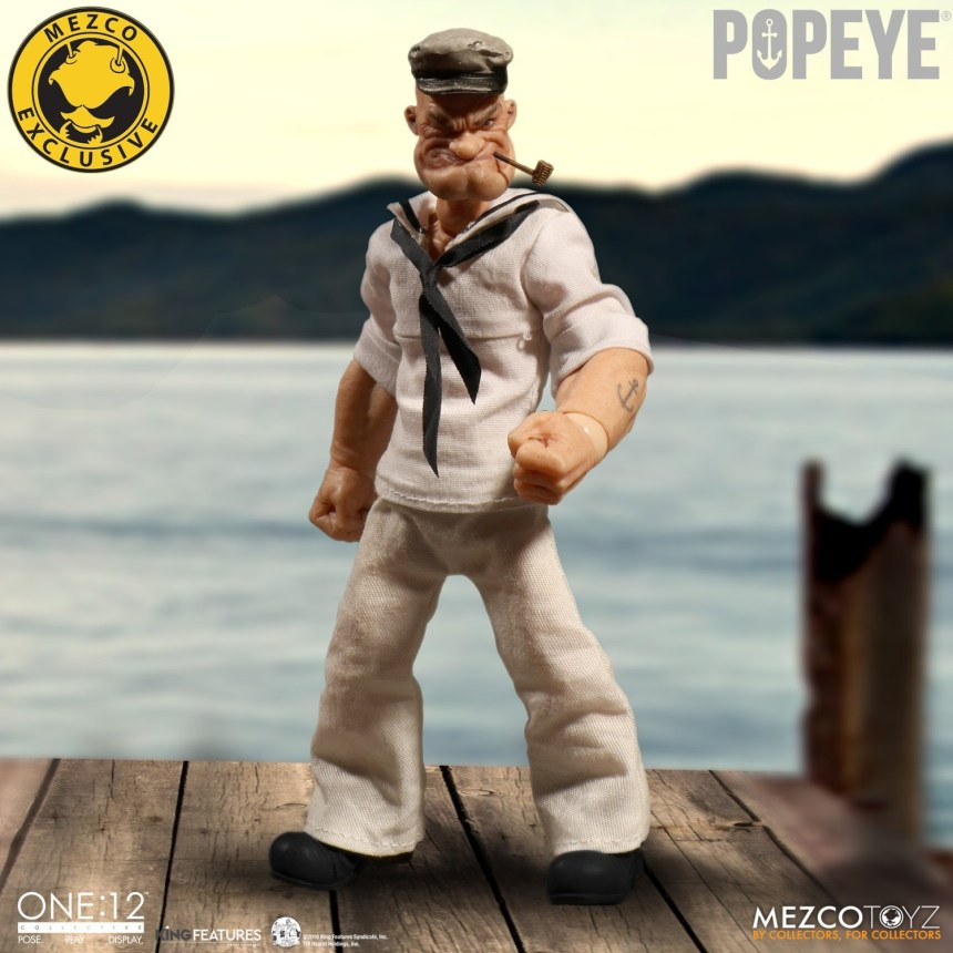 One:12 Collective Popeye – Deluxe Sailor Edition figure