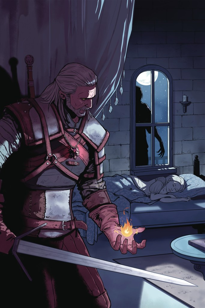 The Witcher: Of Fire And Flame #1
