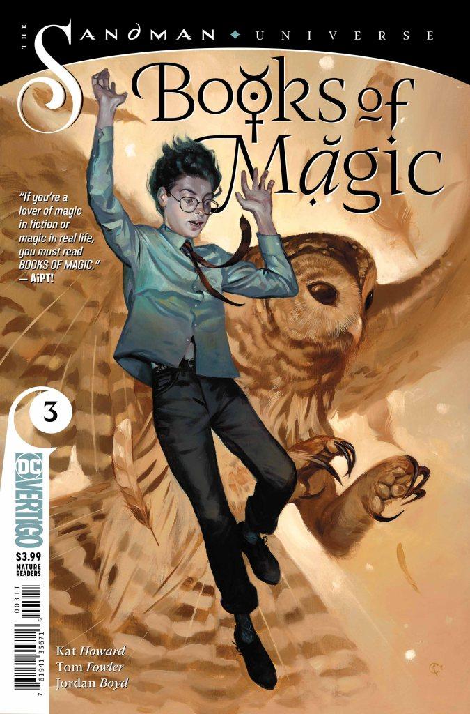 Books of Magic #3