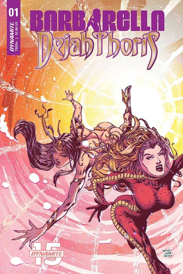 Barbarella/Dejah Thoris #1