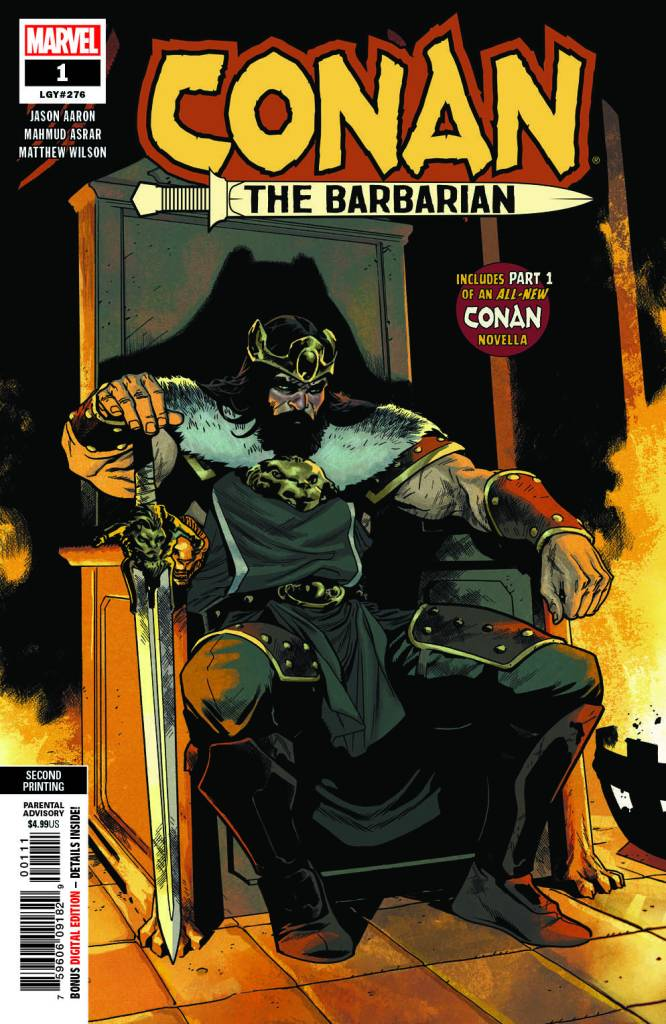 Conan the Barbarian #1 2nd Printing
