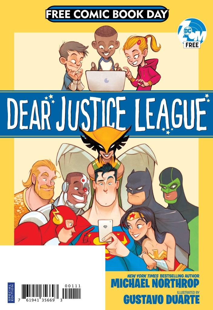 DEAR JUSTICE LEAGUE FCBD SPECIAL EDITION
