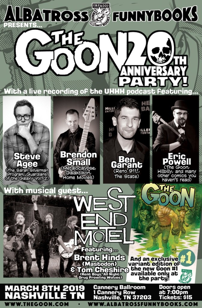 The Goon 20th Anniversary Party
