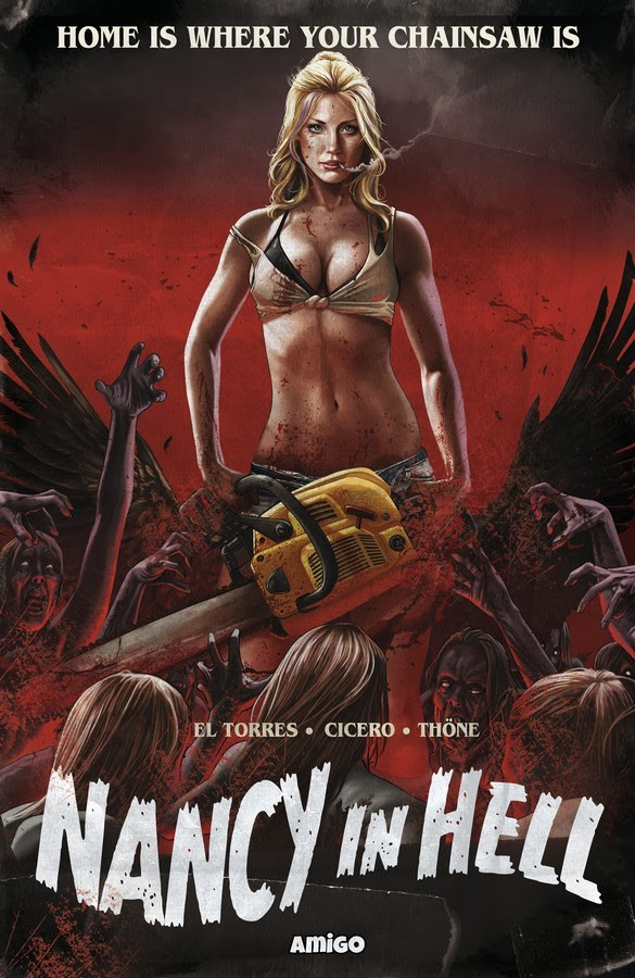 Nancy in Hell GN Home Is Where Your Chainsaw Is