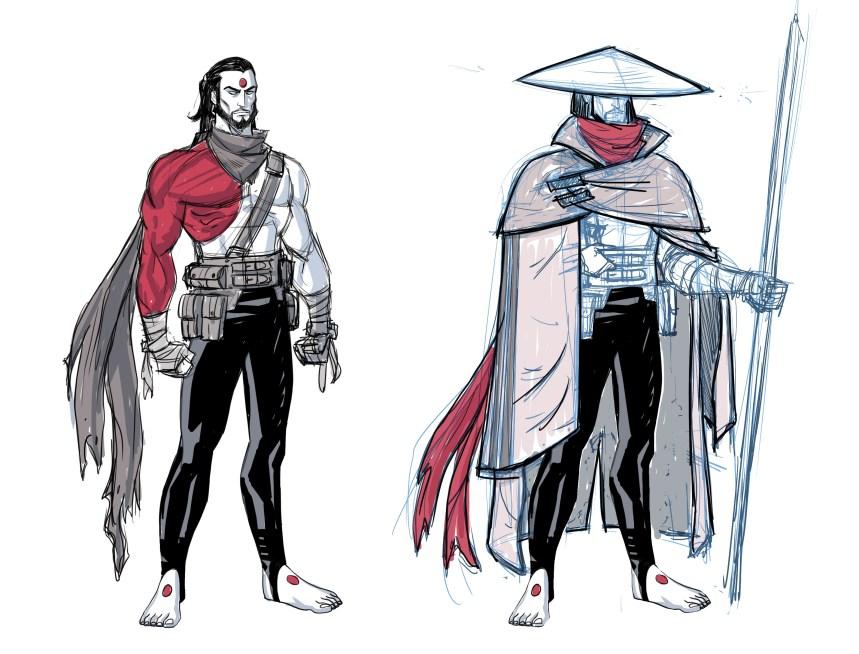Rai Character Designs by AJ Jothikumar