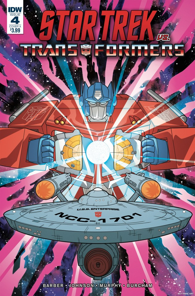Star Trek vs. Transformers #4