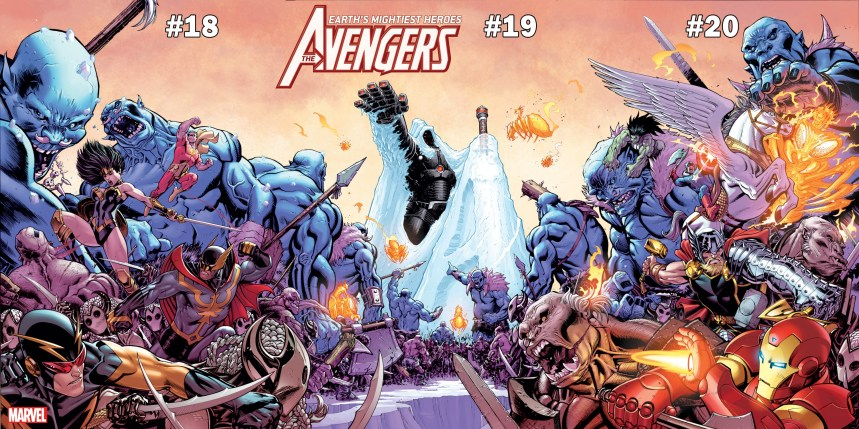 The Avengers #18, #19, #20