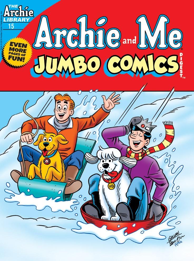 Archie & Me Jumbo Comics Digest #15